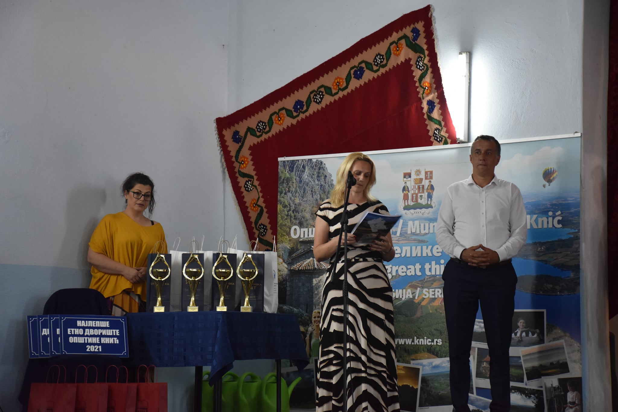 Уручене награде за најлепша дворишта општине Кнић 2021